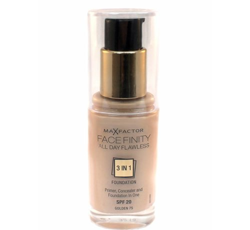 Max Factor Facefinity 3 in 1 - 75 Golden - Foundation