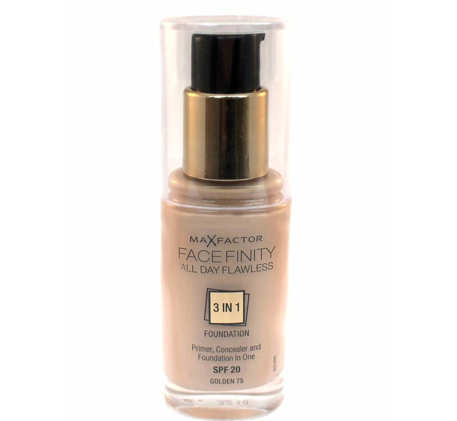 Facefinity 3 in 1 - 75 Golden - Foundation
