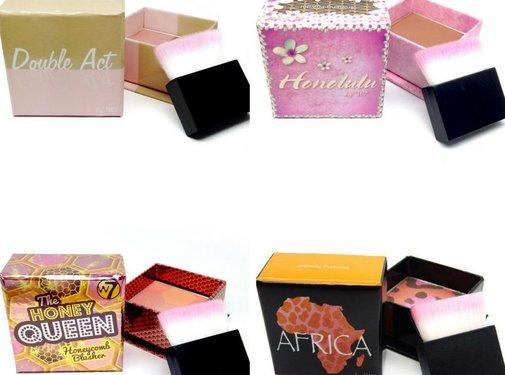 W7 Make-Up Cubes Bundel