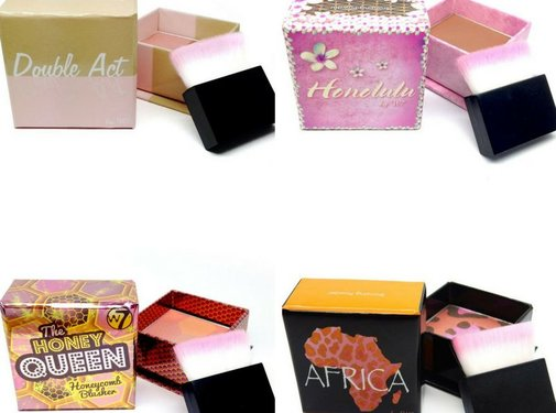 W7 Make-Up Cubes Collection