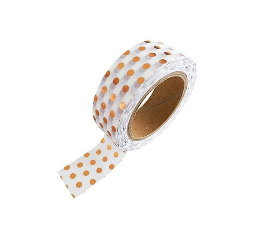 Masking Tape - Koper Dots