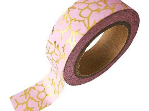 Studio Stationery Masking Tape - Pink Marble