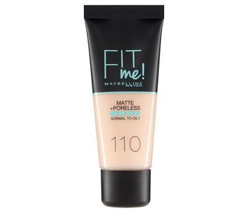 Maybelline Fit Me Foundation - Porcelain 110