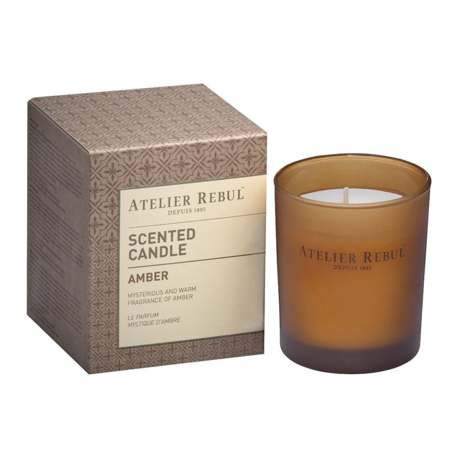 scented candle amber 140gr
