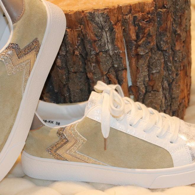sneaker kaki/beige kp2756