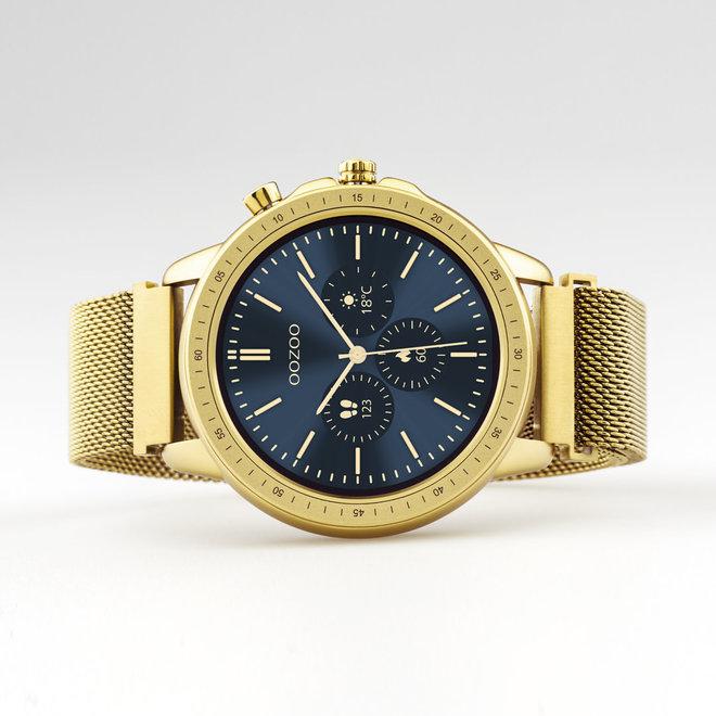 oozoo smartwatch unisex mech horlogeband goud/goud