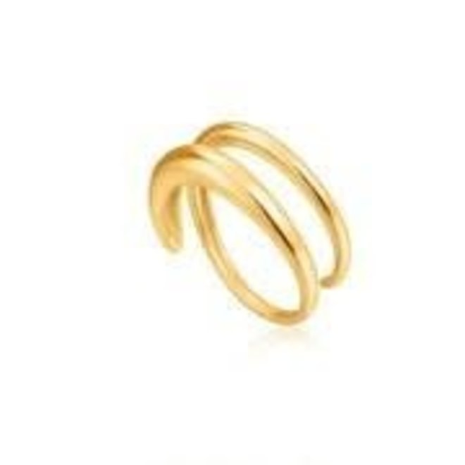 luxe twist adjustable ring R024-02