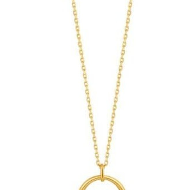 luxe  curve necklace N024-03