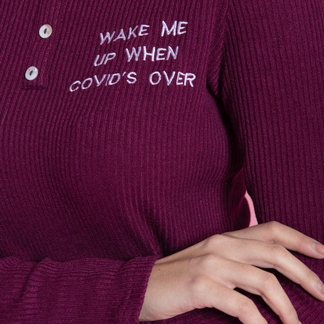 "pyjama's class 93 ""wake me up when covid's over"""