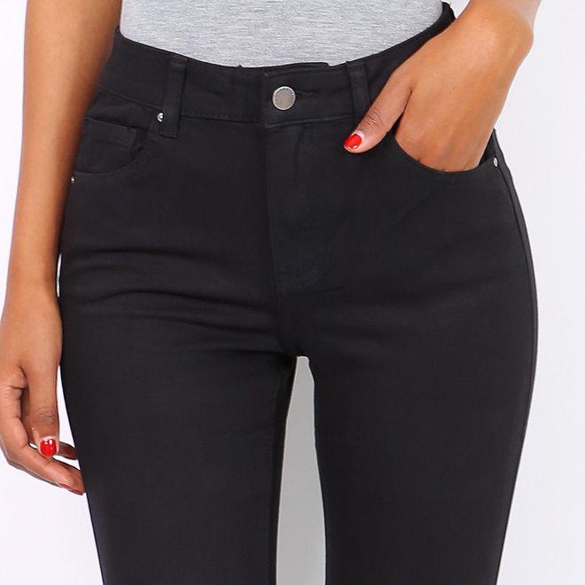 toxik 360 denim normale taille zwart jeans l1700