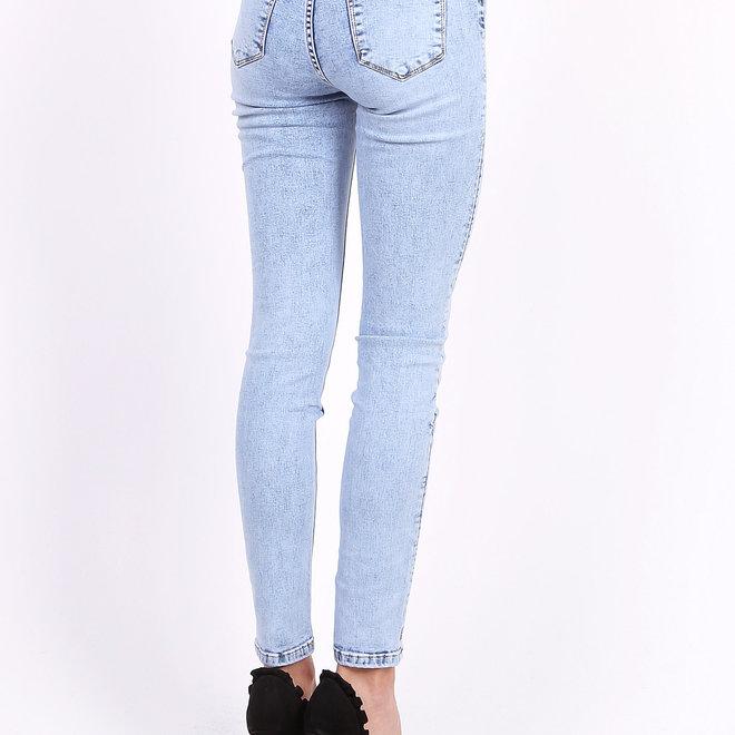hoge taille toxik3  jeans lichtblauw l185-j32