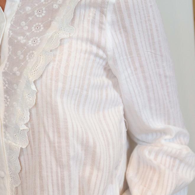 hemdje wit met kant doorzichtig detail 2337