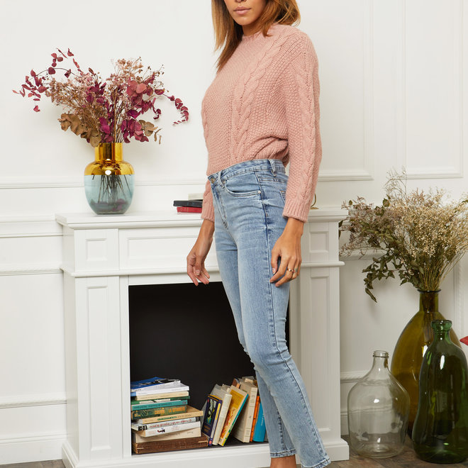 R.DISPLAY lichte jeans D1252 normale taille skinny