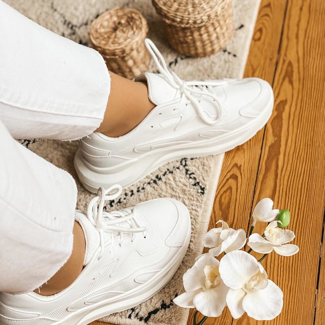 6136 sneaker wit