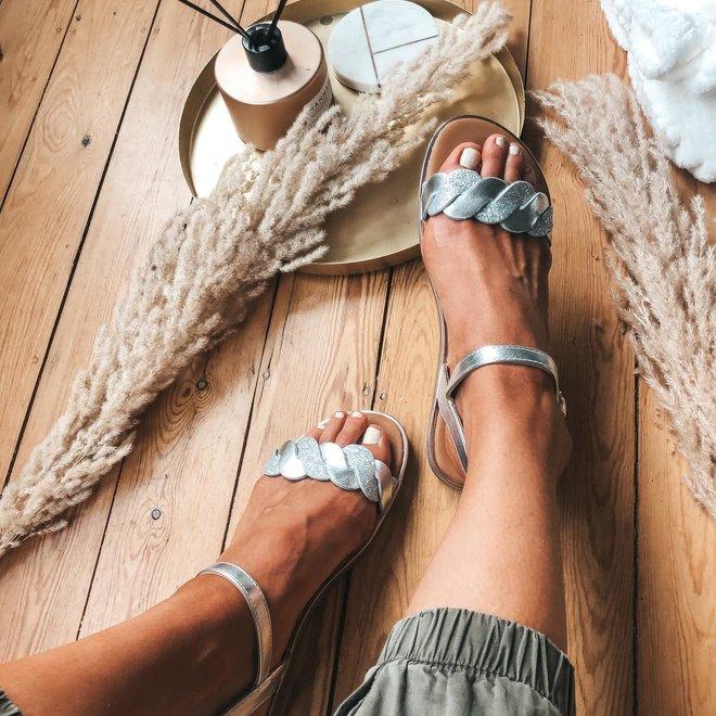 sandaal met glitter 123-5