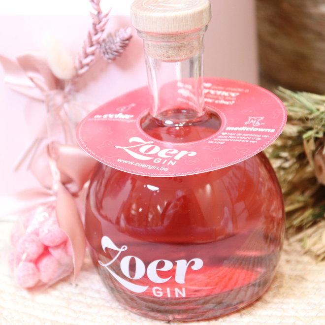 valentijn box fles zoer gin met smoelentrekkers 1x70cl