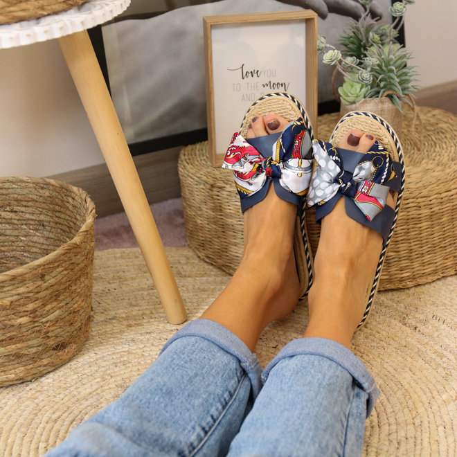 Slipper H strik 2059