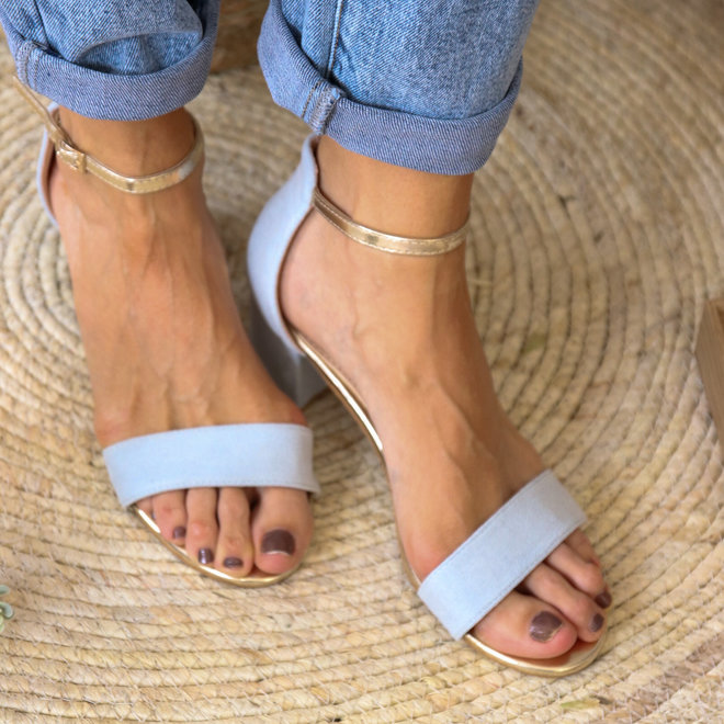 sandaal laag hakje (5cm) 8717