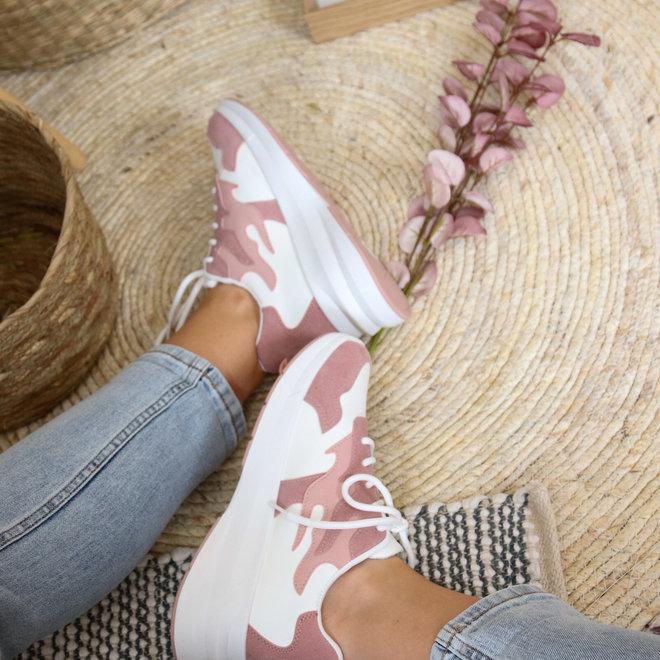 sneaker roze 6112