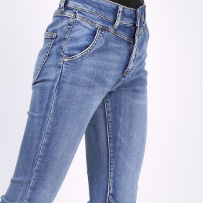 Toxic jeans licht relax normale taille l20042-5