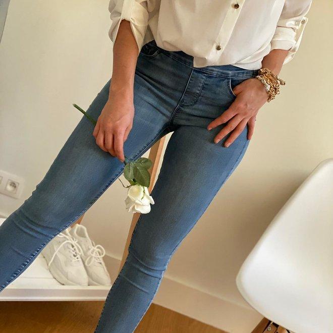 jeans toxik3 rits achteraan l1182-6 donker