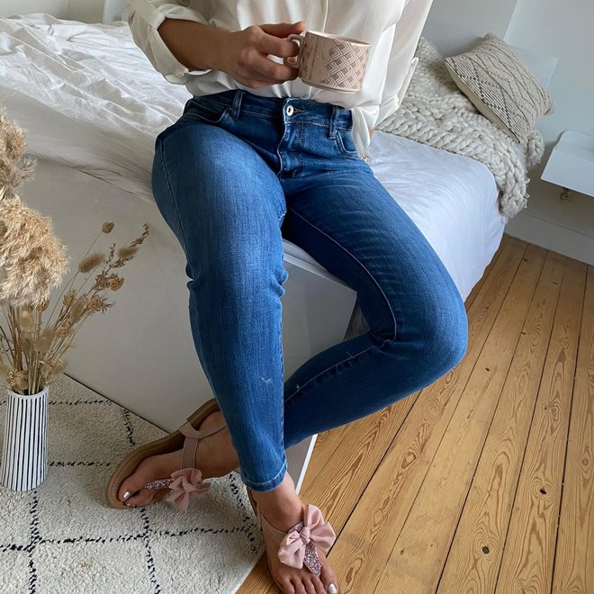 toxik  jeans normale taille skinny L20054