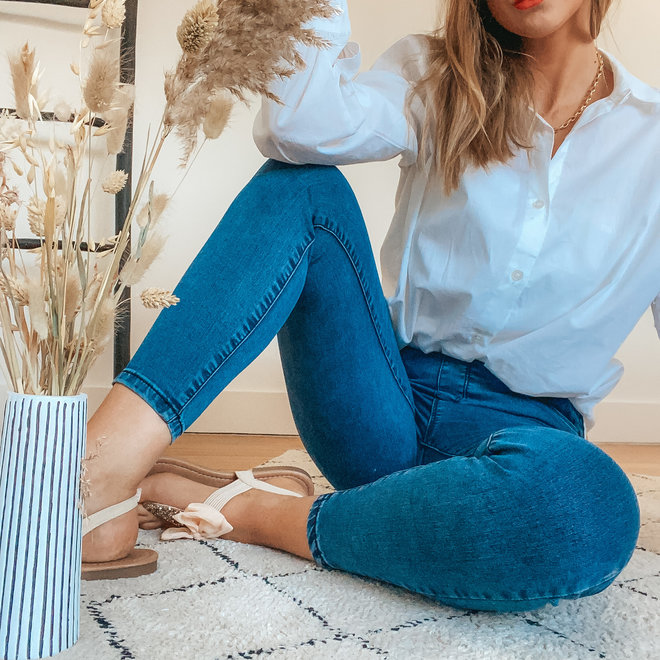 jeans toxik3 rits achteraan l1182-3