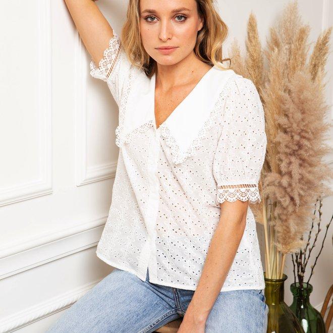 hemdje wit met kraag 2343