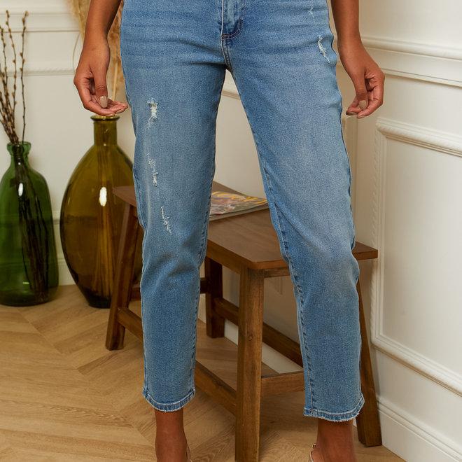 jeans mom kleine scheurtjes d1199