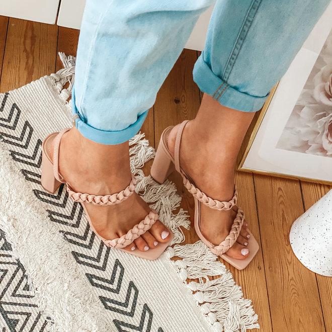 sandal met gevlochten bandje jrx 2026