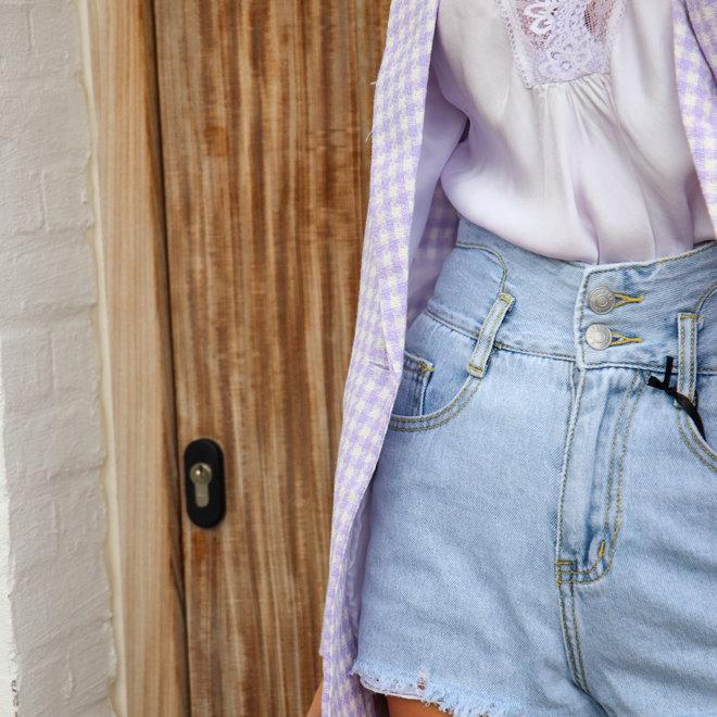 jeans short  jd349