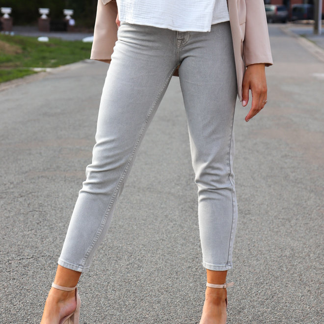 jeans taupe d1309
