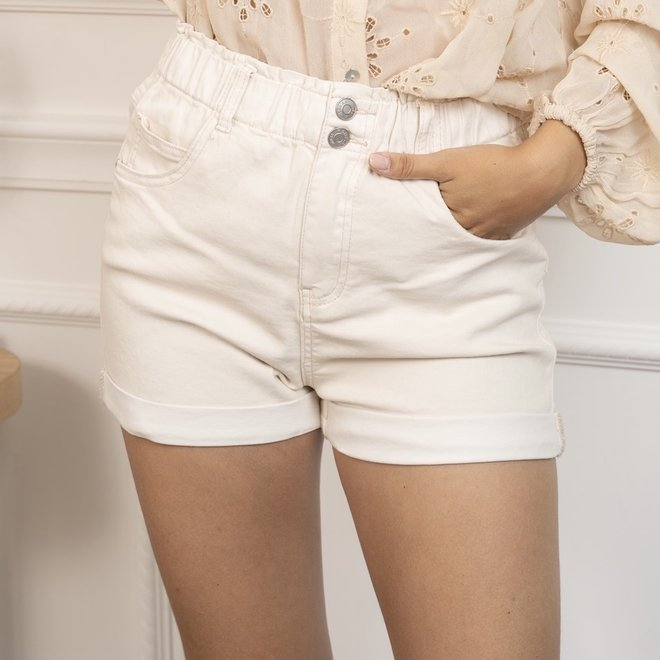 beige jeanshort jd243