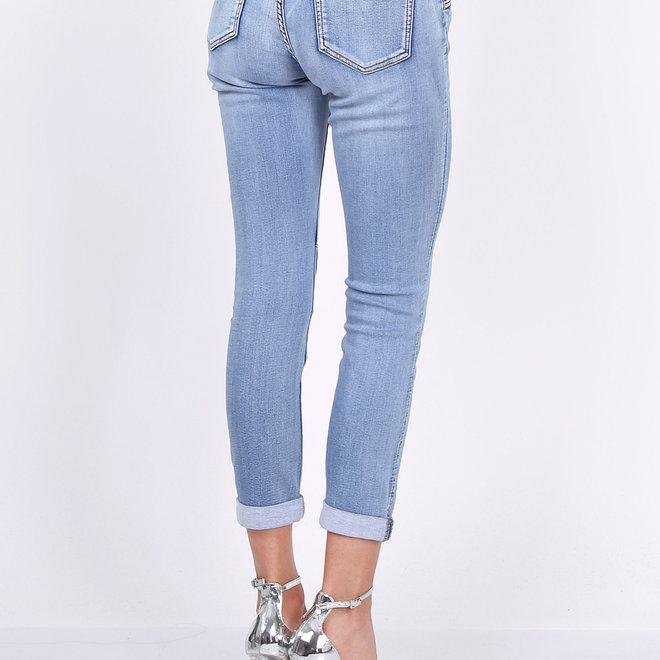 toxik jeans l20042-6 relax mid jeans kleur