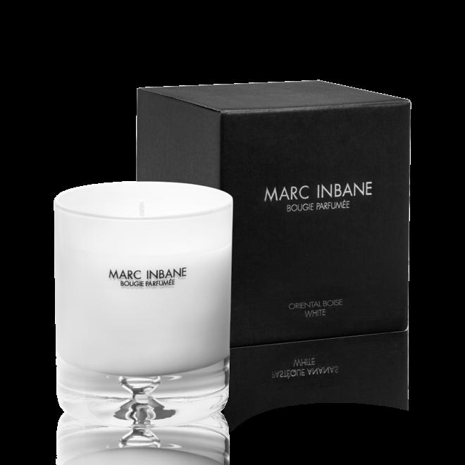 Bougie Parfumée tabac cuir black/white