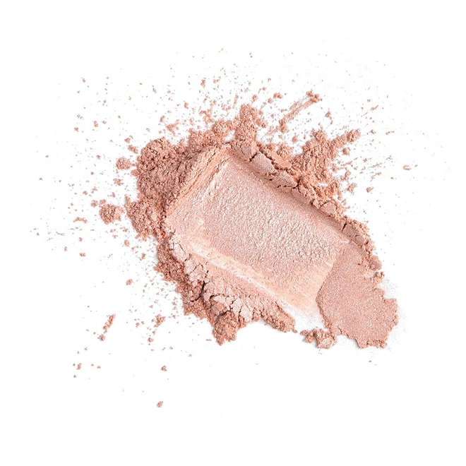 iak loose mineral eyeshadow princess peach