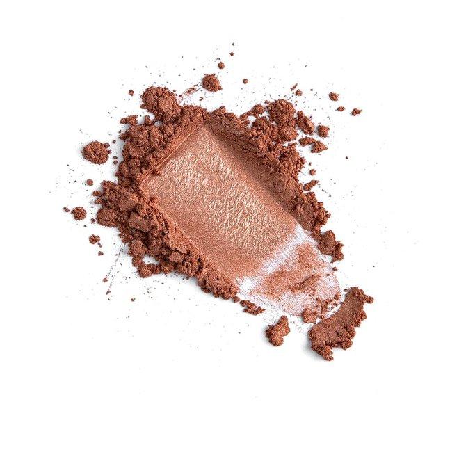 iak loose mineral eyeshadow copper