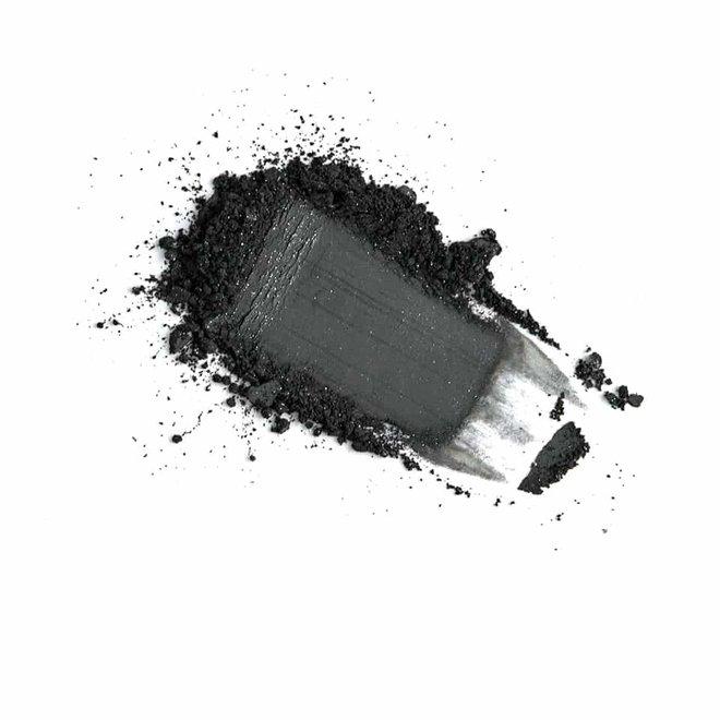 iak loose mineral eyeshadow black pearl