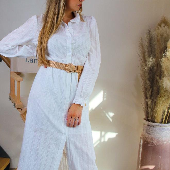 midi dress wit 21130