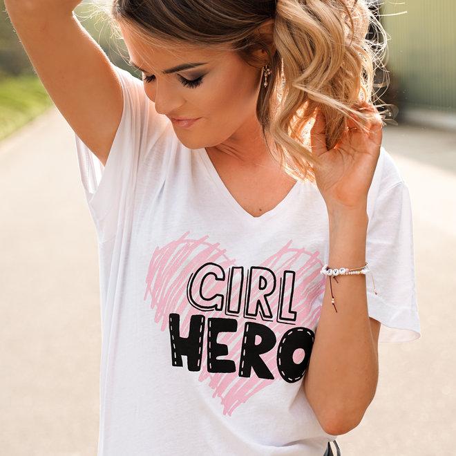 shirt girl hero