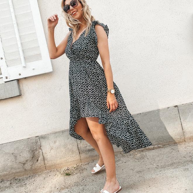 maxi dress zwart r51-5