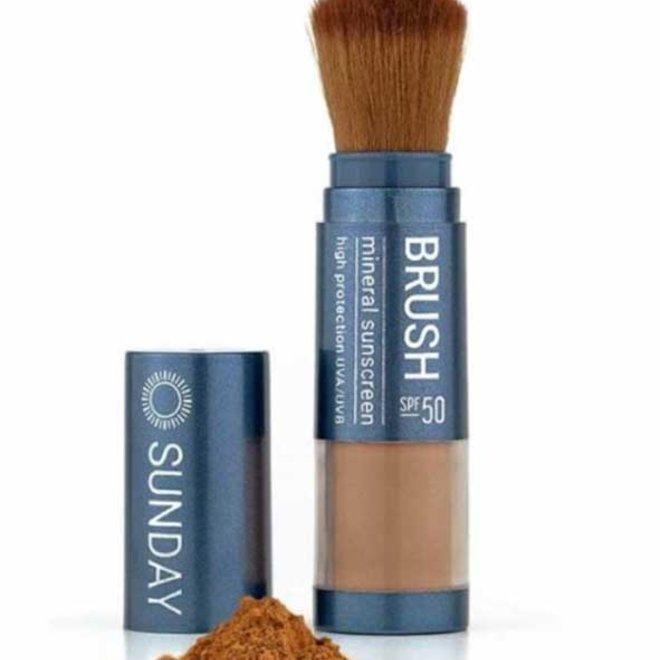 Sunday brush minerale poeder sunblock 50