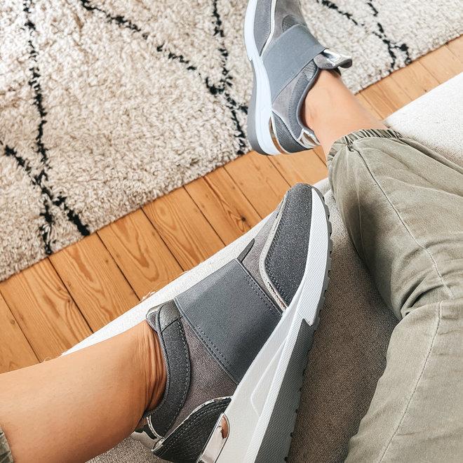 sneaker band hd-1002 grijs