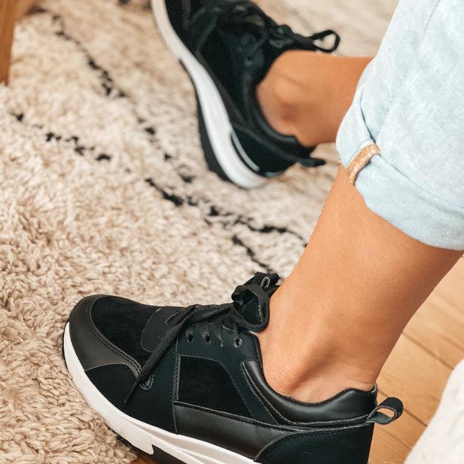 sneaker zwart 6172