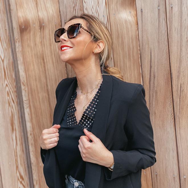 blouse zwart v9