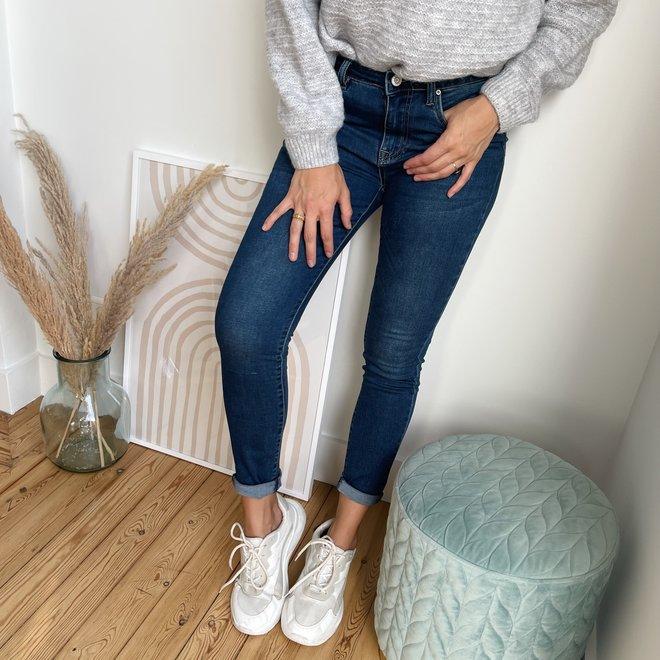 toxik jeans donker L20053-6