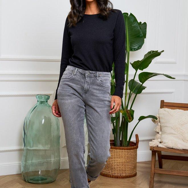 grijze jeans relax r display d1383