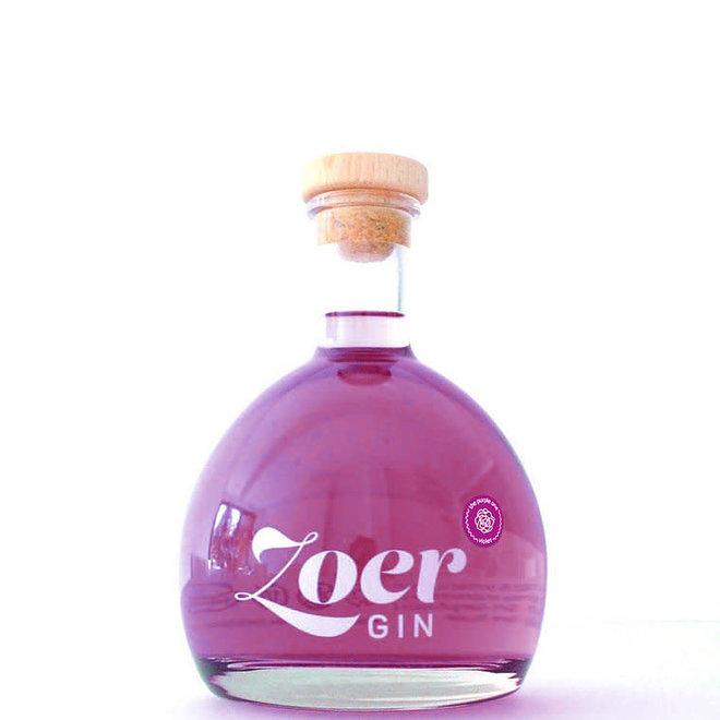 Zoer gin violet 70CL plus violet snoepjes