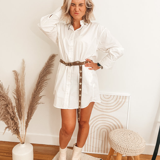 hemdskleed wit c3141