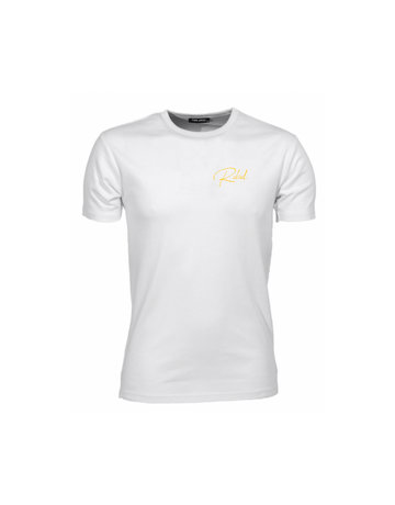 Riding Rebellion Rebel Shirt White/Yellow